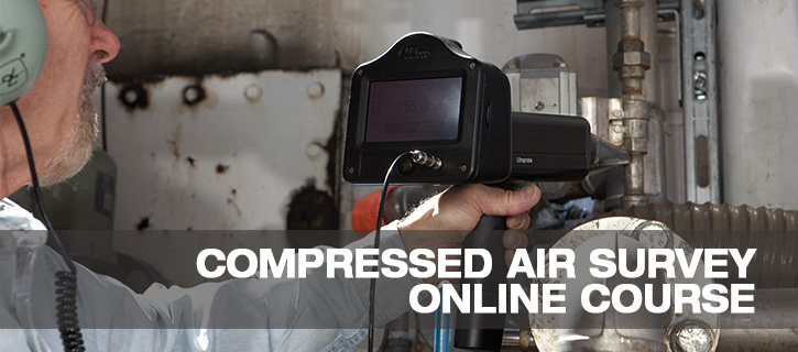 Compressed Air Leak Survey Online Course